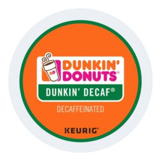Keurig K-Cup Portion Pack Dunkin' Donuts Dunkin' Decaf Coffee - 16-pk.