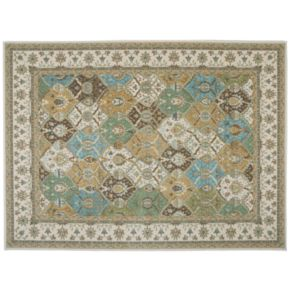 Nourison Modesto Traditional Floral Geometric Rug