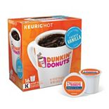 Dunkin' Donuts French Vanilla Flavored Coffee, Keurig® K-Cup® Pods, Medium Roast, 16 Count