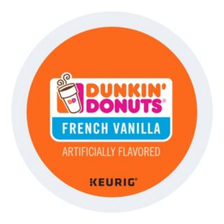 Keurig K-Cup Portion Pack Dunkin' Donuts French Vanilla Coffee - 16-pk.