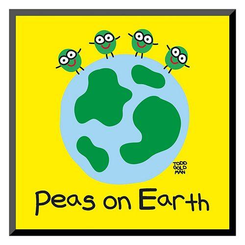 Art.com ''Peas On Earth'' Wall Art