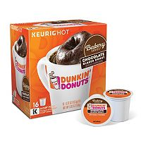 Keurig® K-Cup® Portion Pack Dunkin' Donuts Bakery Series Chocolate Glazed Donut-Flavored Coffee - 16-pk.