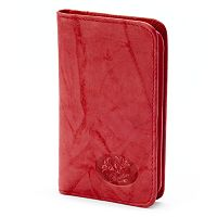 Buxton Heiress Pik-Me-Up Leather Snap Card Case