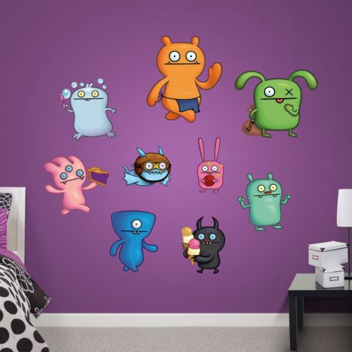 UGLYDOLL Collection Wall Decals by Fathead