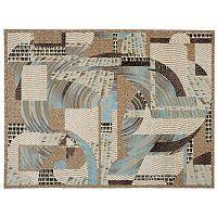 Nourison Modesto Abstract Rug