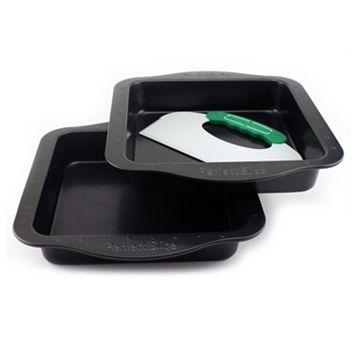 BergHOFF Perfect Slice 3-pc. Square Cake Pan & Cutting Tool Set