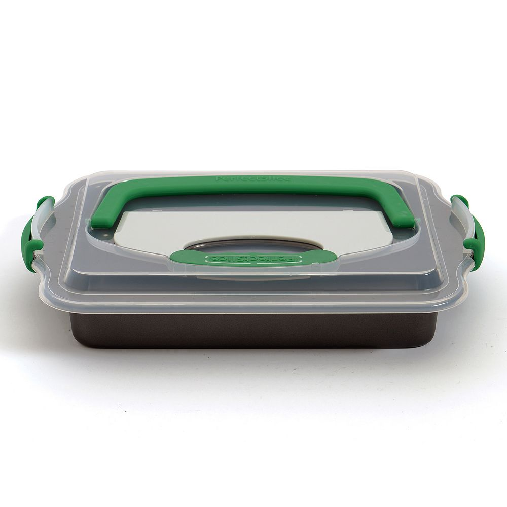 BergHOFF Perfect Slice 3-pc. Covered Baking Pan & Cutting Tool Set