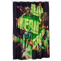 Teenage Mutant Ninja Turtles Fabric Shower Curtain