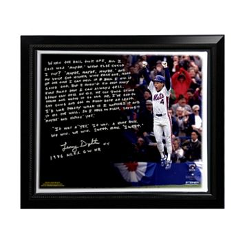 Steiner Sports New York Mets Lenny Dykstra 1986 NLCS Walk-Off Home Run Facsimile 22