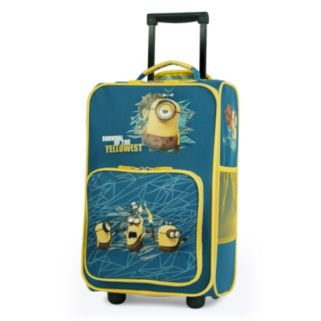 """Despicable Me Minions """"Survival of the Yellowest"""" Kids Wheeled Luggage by Travelpro"""