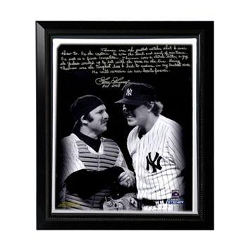 Steiner Sports New York Yankees Goose Gossage on Thurman Munson Facsimile 22