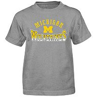 Boys 4-7 Michigan Wolverines Cotton Tee