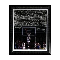 Steiner Sports Houston Cougars Elvin Hayes Being Big E Facsimile 22