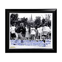 Steiner Sports Notre Dame Fighting Irish Lou Holtz Basketball vs. Tim Brown Facsimile 22