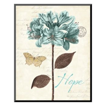 Art.com ''Slated Blue II'' Hope Wall Art