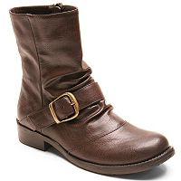 Kisses by 2 Lips Too Too Jada Women's Moto Boots
