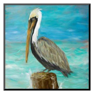 Art.com ''Pelicans On Post I'' Wall Art