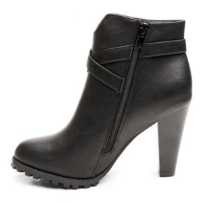 Kisses by 2 Lips Too Too Lingo Women's High Heel Ankle Boots