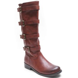 Kisses by 2 Lips Too Too Jenny Women's Buckle Knee-High Boots