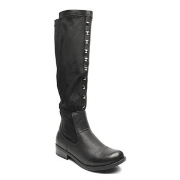 Kisses by 2 Lips Too Too Landon Women's Studded Over-The-Knee Boots