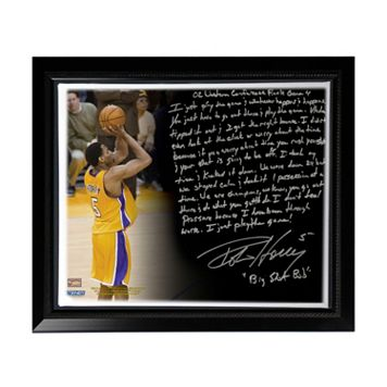 Steiner Sports Los Angeles Lakers Robert Horry Big Shot Rob Facsimile 22