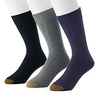 Men's GOLDTOE 3-pack Hampton Fashion Dress Socks