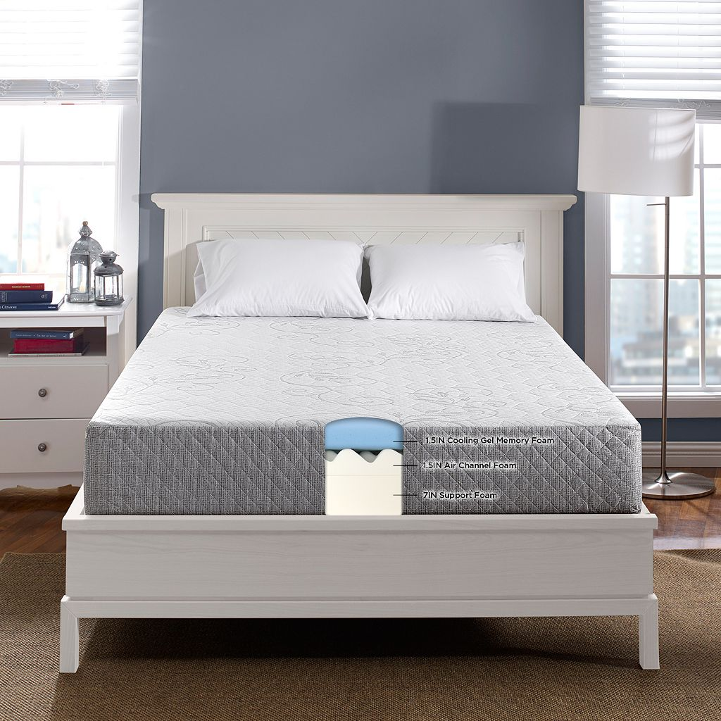 Serta 10-inch Haven Gel Memory Foam Mattress