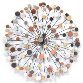 Stratton Home Decor Metallic Burst Wall Decor
