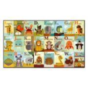 Art.com ''Alphabet Zoo'' Wall Art