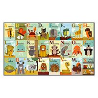 Art.com ''Alphabet Zoo'' Wall Art