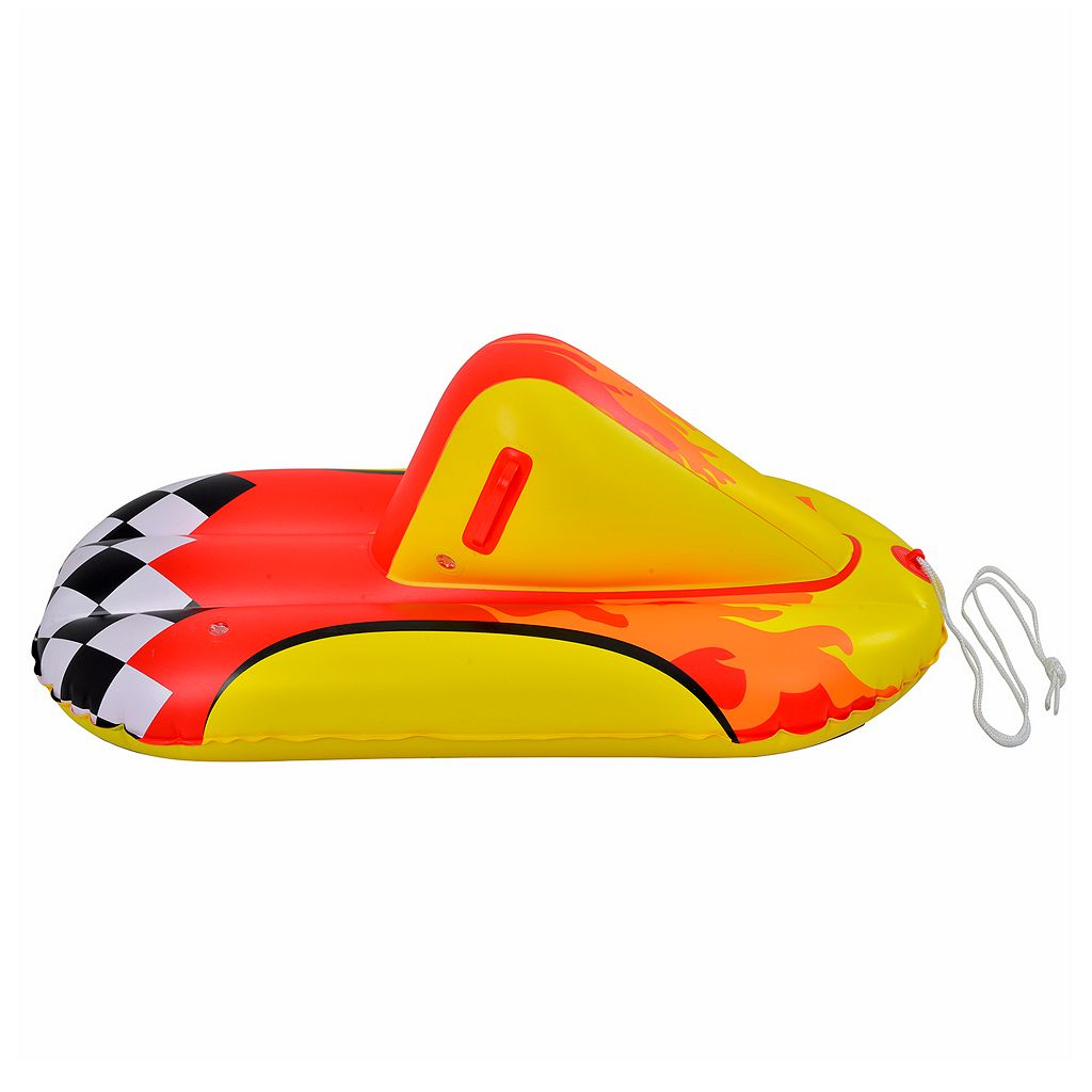 Blue Wave Sports Thunderbolt 44-inch Inflatable Snow Rider