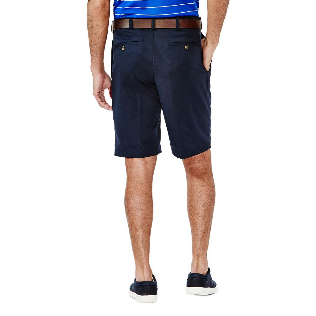Men's Haggar Cool 18 Pleated Microfiber Shorts