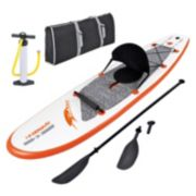 Blue Wave Sports Stingray 10-foot Inflatable Paddle Board with Paddle & Hand Pump