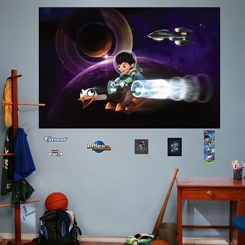 Disney's Miles from Tomorrowland Mural Wall Decal by Fathead
