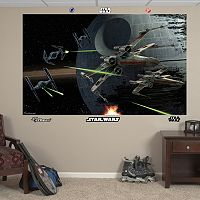 Star Wars Space Battle Mural Wall Decal by Fathead
