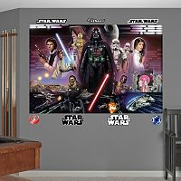 Star Wars Classic Mural Wall Decal by Fathead