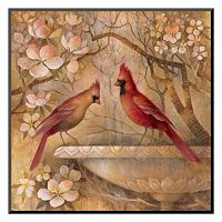 Art.com ''Elegance in Red II'' Wall Art