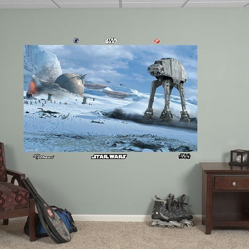 Star Wars Battle of Hoth Mural Wall Decal by Fathead