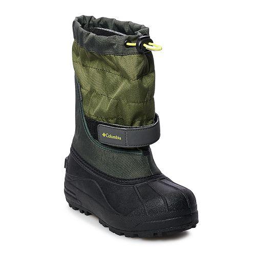 aa9d913754c9 Columbia Powderbug Plus II Boys  Waterproof Winter Boots