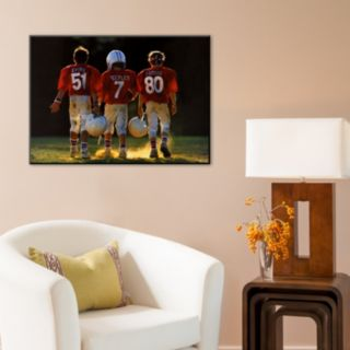 Art.com ''Winners Never Quit Football'' Wall Art