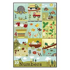 Art.com ''Counting to Ten'' Wall Art