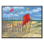 Art.com ''Beach Kites Red'' Wall Art