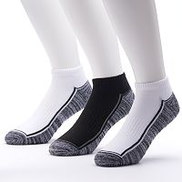 Men's Tek Gear 3-pack Performance Low-Cut Socks