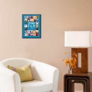 Art.com ''1990s Film Alphabet'' Wall Art