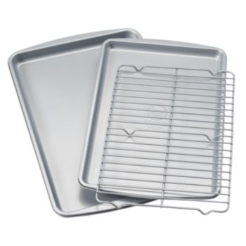 Food Network? 3-pc. Nonstick Cookie Sheet Set with Cooling Rack