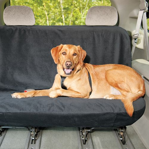 Doctors Foster Smith Microsuede Pet Car Rear Seat Cover