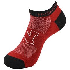 Women's Nebraska Cornhuskers Spirit Socks
