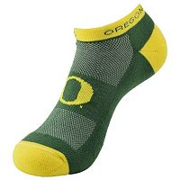 Youth Oregon Ducks Spirit No-Show Socks