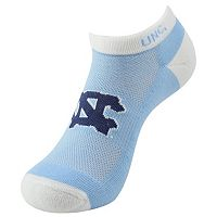 Youth North Carolina Tar Heels Spirit No-Show Socks