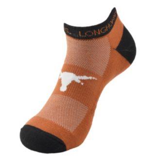 Youth Texas Longhorns Spirit No-Show Socks